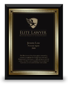 Elite Lawyer Plaque